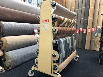 Large selection of Carpets & Cushion Vinyl Floorings
