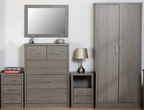 Lisbon Black Bedroom Set