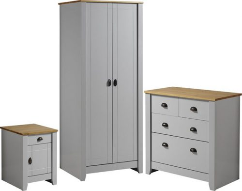 Ludlow Grey Bedroom Furniture